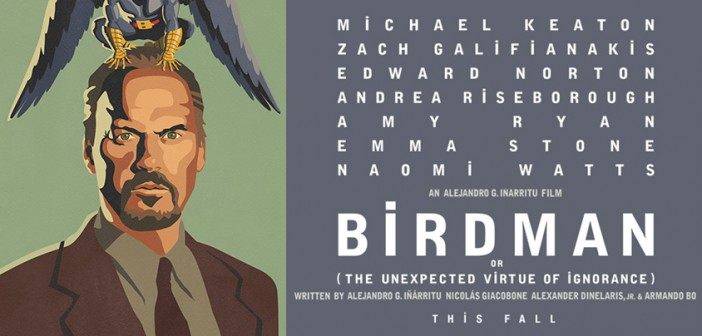 Birdman, starring Michael Keaton