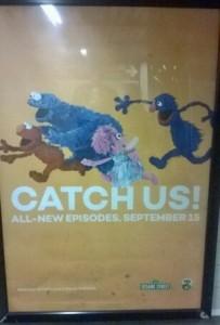 sesame street subway ad