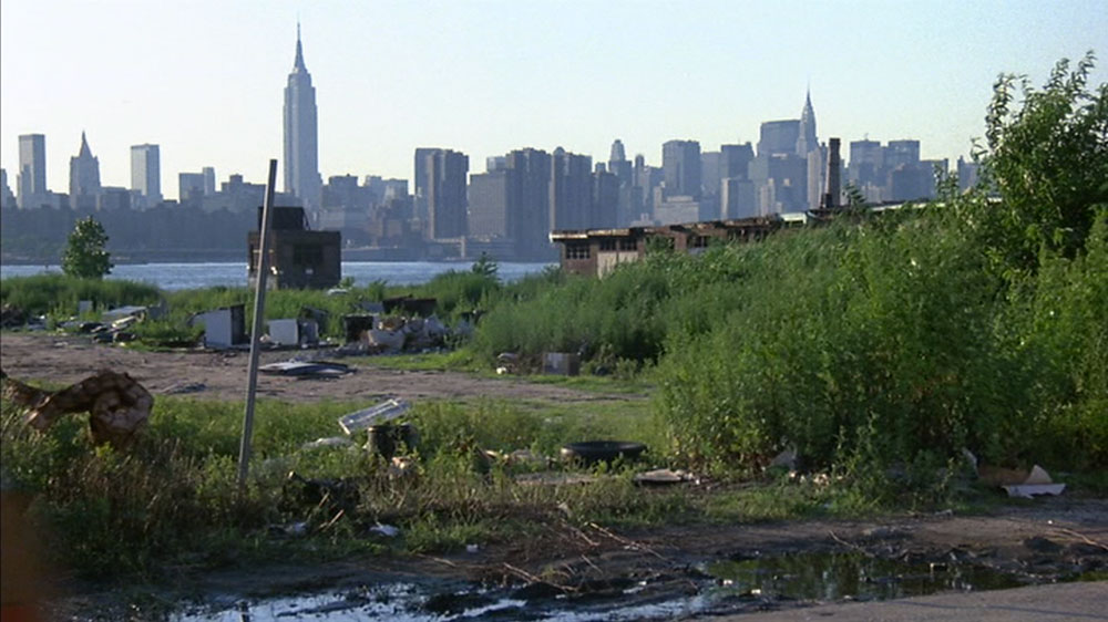 Empty Williamsburg lot in 1990