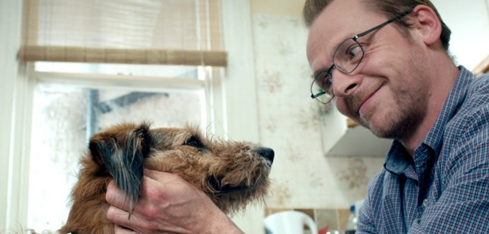 Simon Pegg and Robin Williams