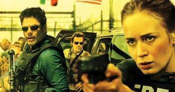 Benicio Del Toro and Emily Blunt in Sicario