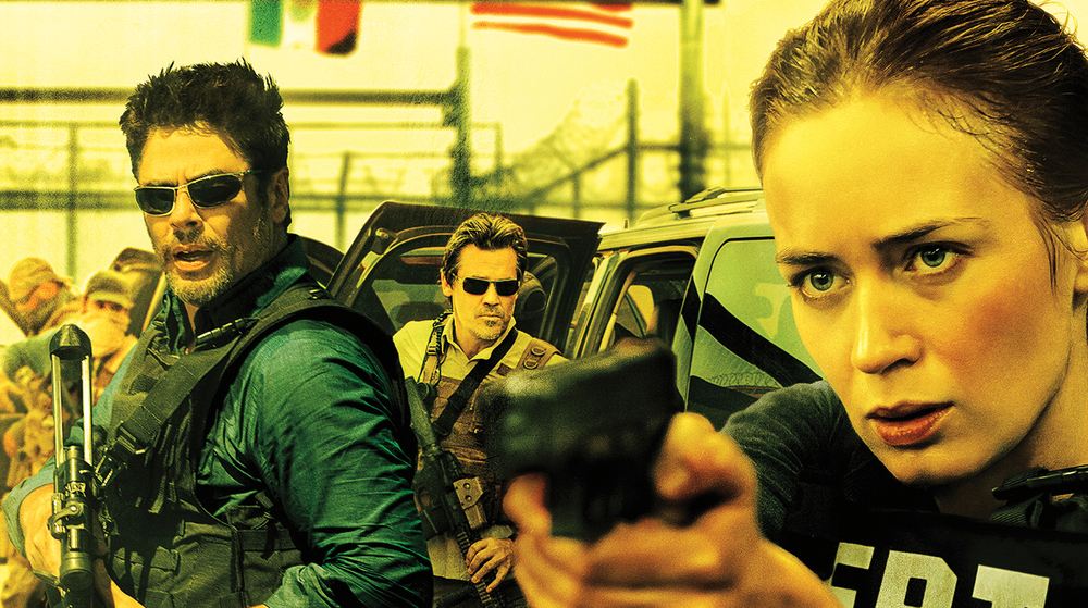 Benicio Del Toro and Emily Blunt in Sicario