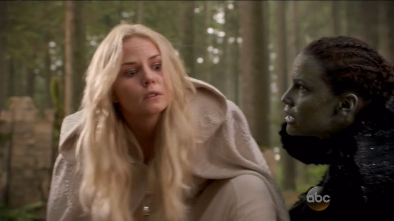 Nimue tells Emma to kill Merlin.