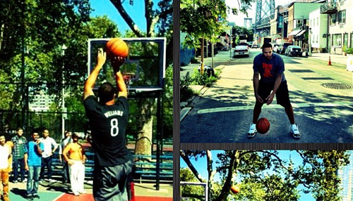 Deron Williams going one-on-one in Brooklyn