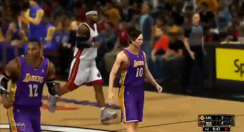 Dwight Howard and Steve Nash, NBA 2K13 style