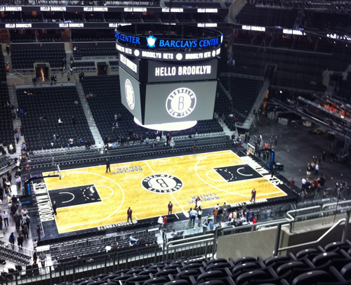 Barclays Center is the best NBA arena today