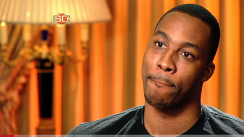Dwight Howard interview with ESPN