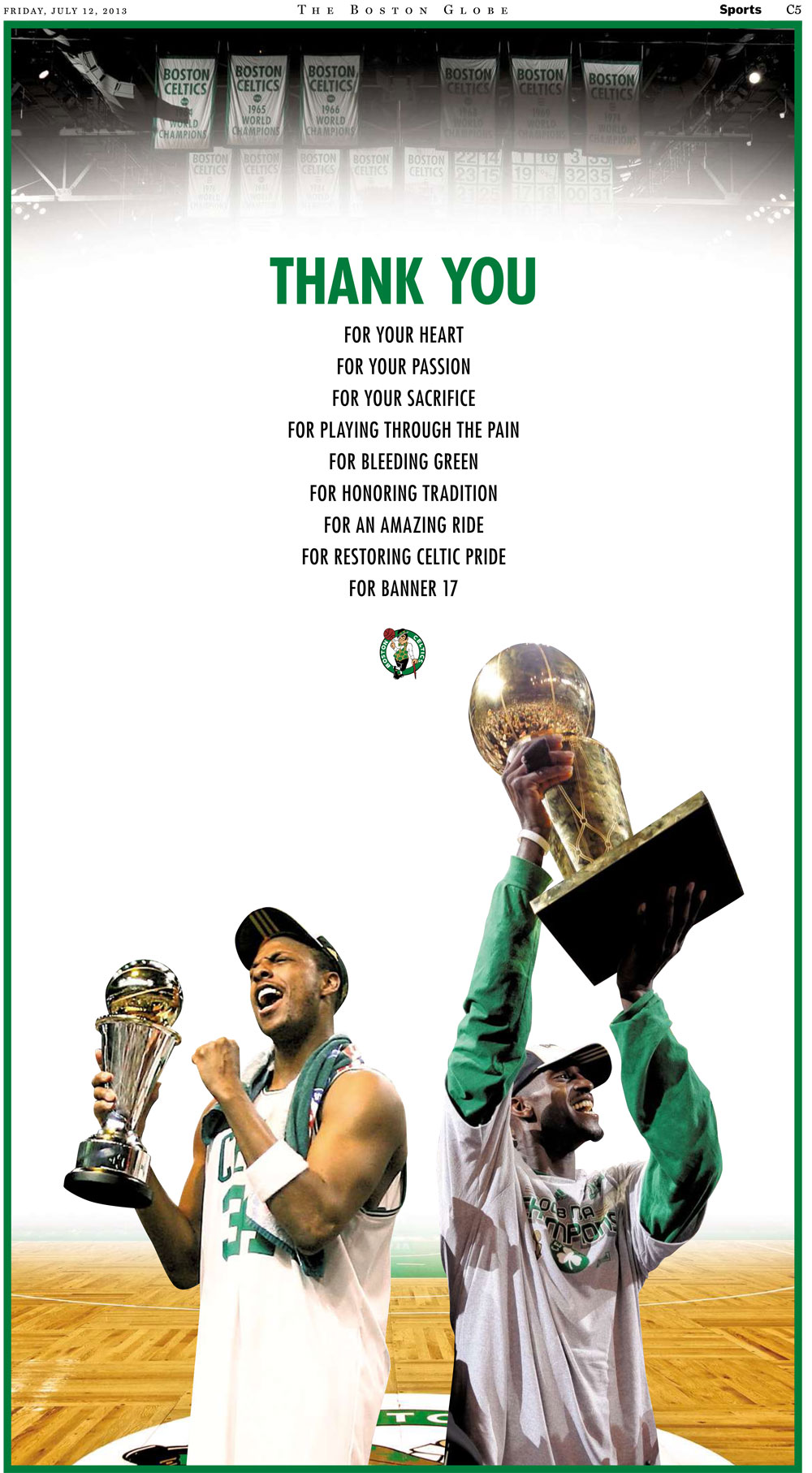 Celtics-Thanks