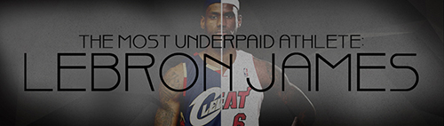 LeBron James is so underpaid