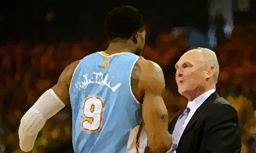 Andre Iguodala and George Karl are gone, slowly fading away...