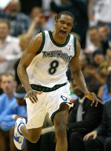 sprewell screaming running down court playoffs