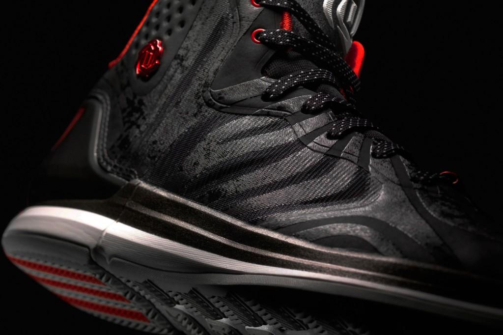 D Rose 4.5 Black, Detail 1, (G99355)