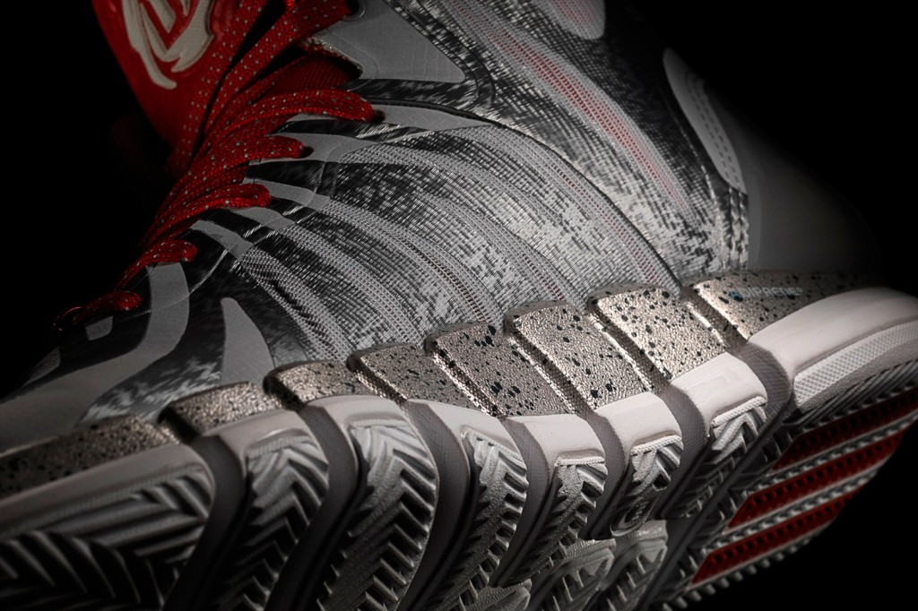 D Rose 4.5 Grey, Detail 2, (G98339)