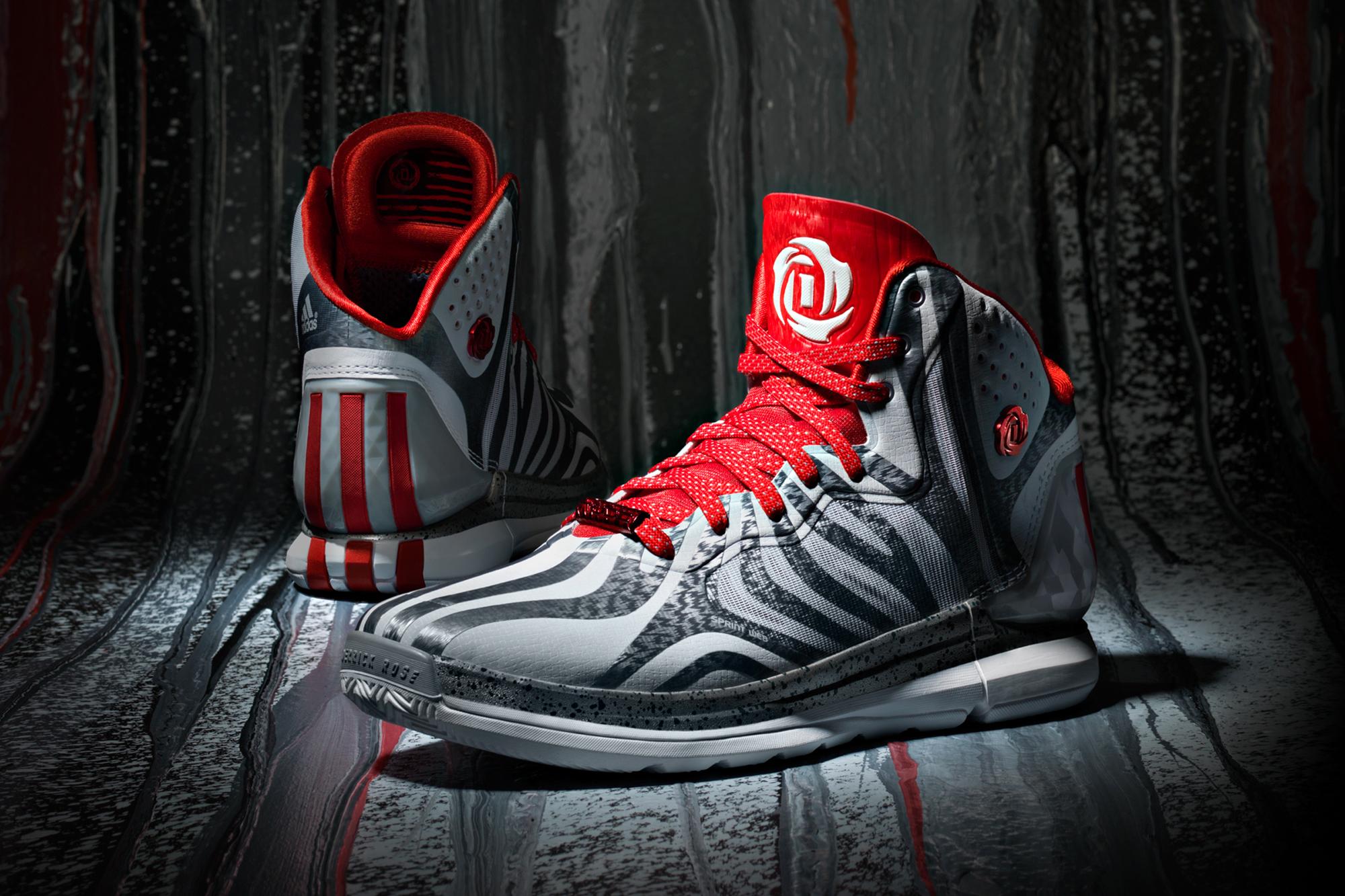 7cefa210922 The adidas D Rose 4.5  Grey - Hardwood and Hollywood