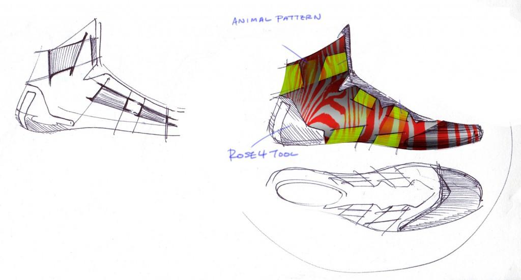 D Rose 4.5, Sketch 5