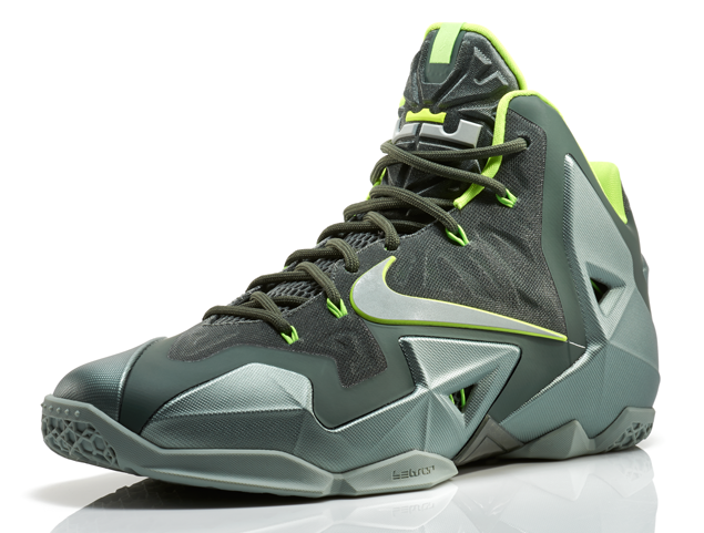 huge discount afa52 e2a0d Nike releases the LeBron 11 in 'Mica Green' - Hardwood and ...