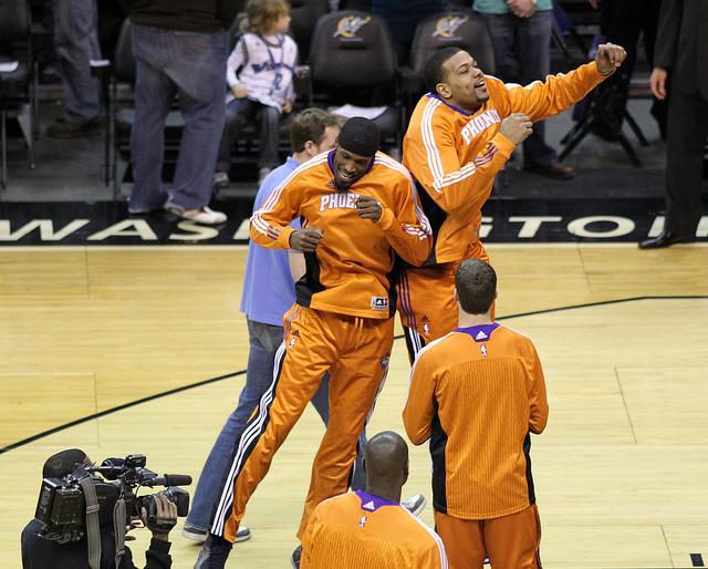Washington Wizards v/s Phoenix Suns January 21, 2011