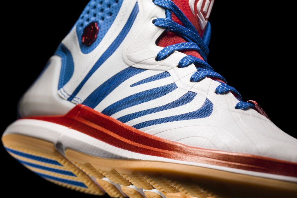 D Rose 4.5 white-navy-red Detail 1 (D74388)