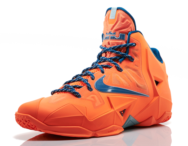 d08f87840f7c O-H-I-O  Nike LeBron 11  Atomic Orange  Collection - Hardwood and ...