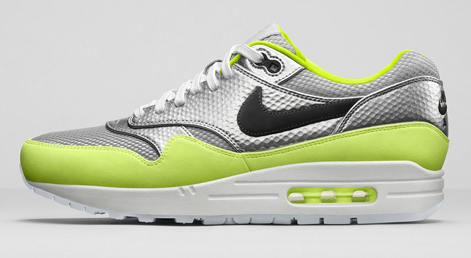 b0714c6a9a Volt: Nike Air Max 1 FB Premium QS 'Mercurial' - Hardwood and Hollywood