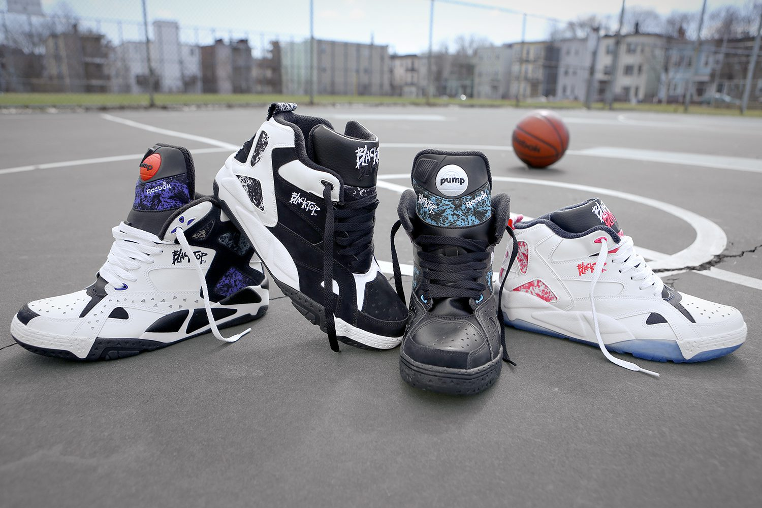 BMF Style  Reebok Classic Blacktop Collection - Hardwood and Hollywood 6d01554c4