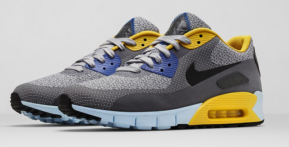finest selection b9b5c 48cac BMF Style: Nike Air Max 90 Jacquard City 'Paris' - Hardwood and ...
