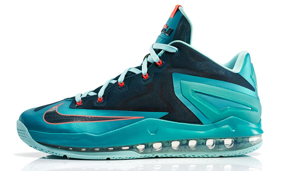 newest a6a3b d2267 It s a shame that LeBron James isn t one to wear lows, because the Nike  LeBron 11 Max Low  Turbo Green  is a real beauty. As disappointing as its  been to ...
