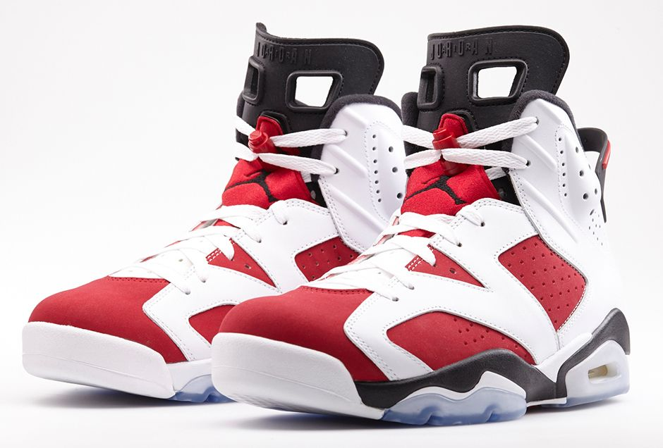 photos officielles 63623 521ab Playoff Kicks: Air Jordan 6 Retro 'Carmine' - Hardwood and ...