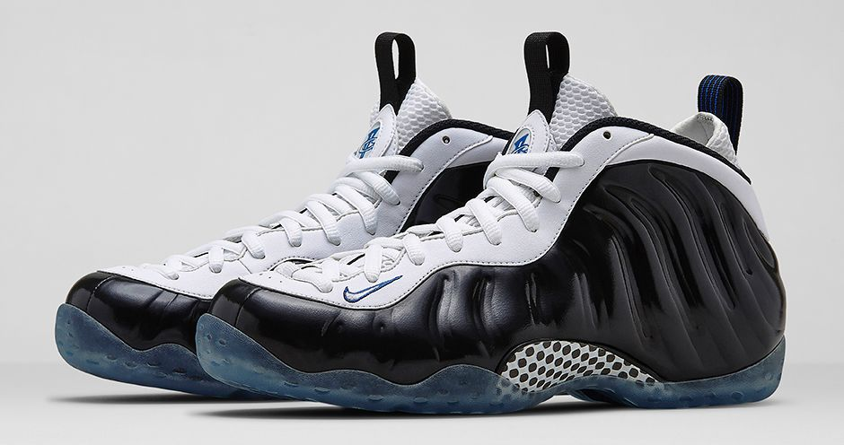Nike Air Foamposite OneUniversity Blue White Black ...
