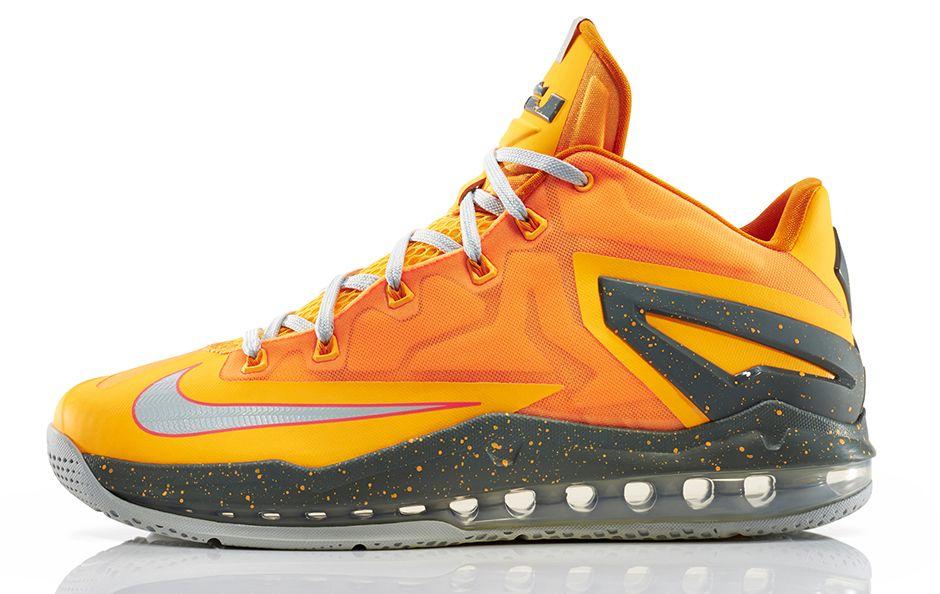 finest selection bf81c 157f6 Florida Oranges  Nike LeBron 11 Max Low  Atomic Mango