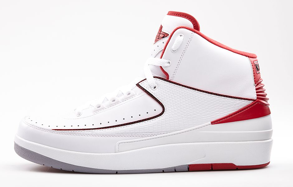 Release Day  Air Jordan 2 Retro  White Varsity Red  - Hardwood and Hollywood 1b2a443f0a