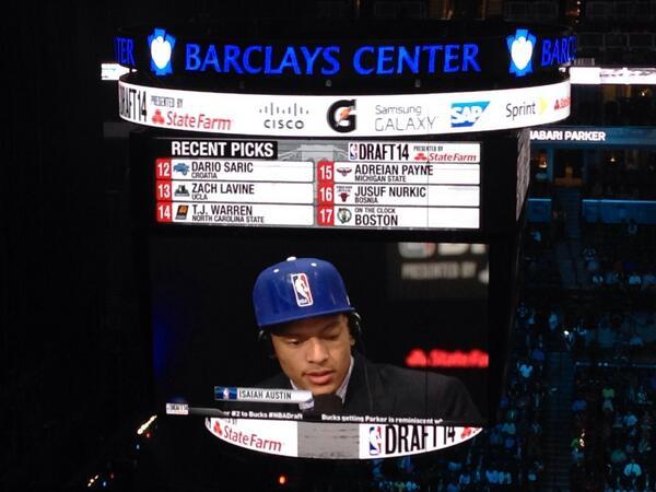 Isaiah Austin NBA draft