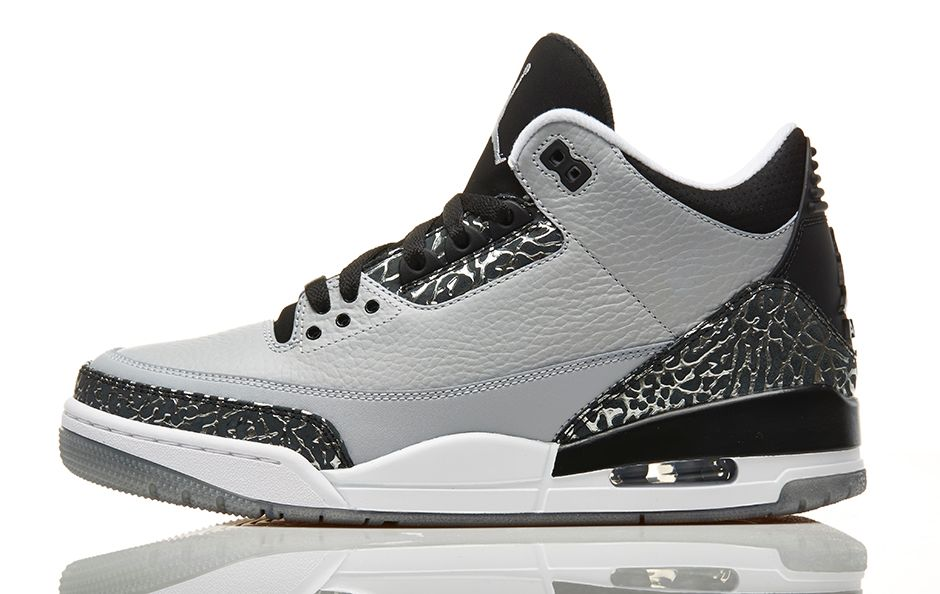 ef7a12d55917 BMF Style  Air Jordan 3 Retro  Wolf Grey  - Hardwood and Hollywood