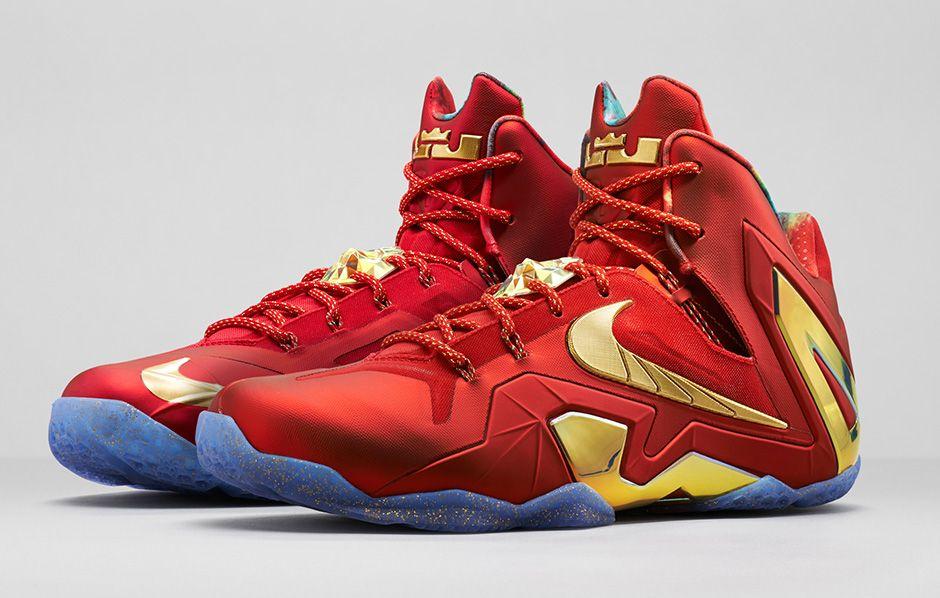 meet 3ad06 631fe Pretty Tony  Nike LeBron 11 Elite SE  Iron Man