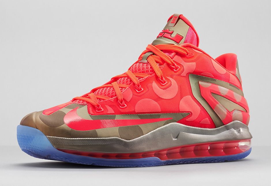 Polka Dots: Nike LeBron 11 Max Low Maison 'Hyper Punch' - Hardwood and  Hollywood