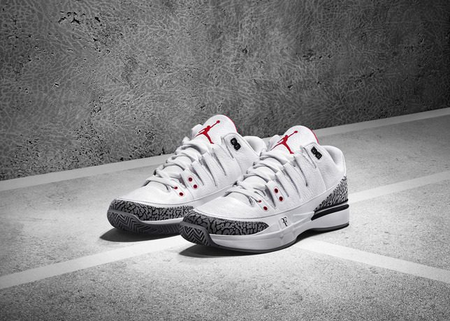 6cced76678ff BMF Debut  NikeCourt Zoom Vapor AJ3 by Jordan - Hardwood and Hollywood