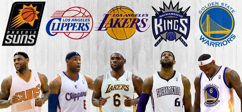 How Every NBA Team in the West Would Finish If They Had LeBron James - Hardwood and Hollywood