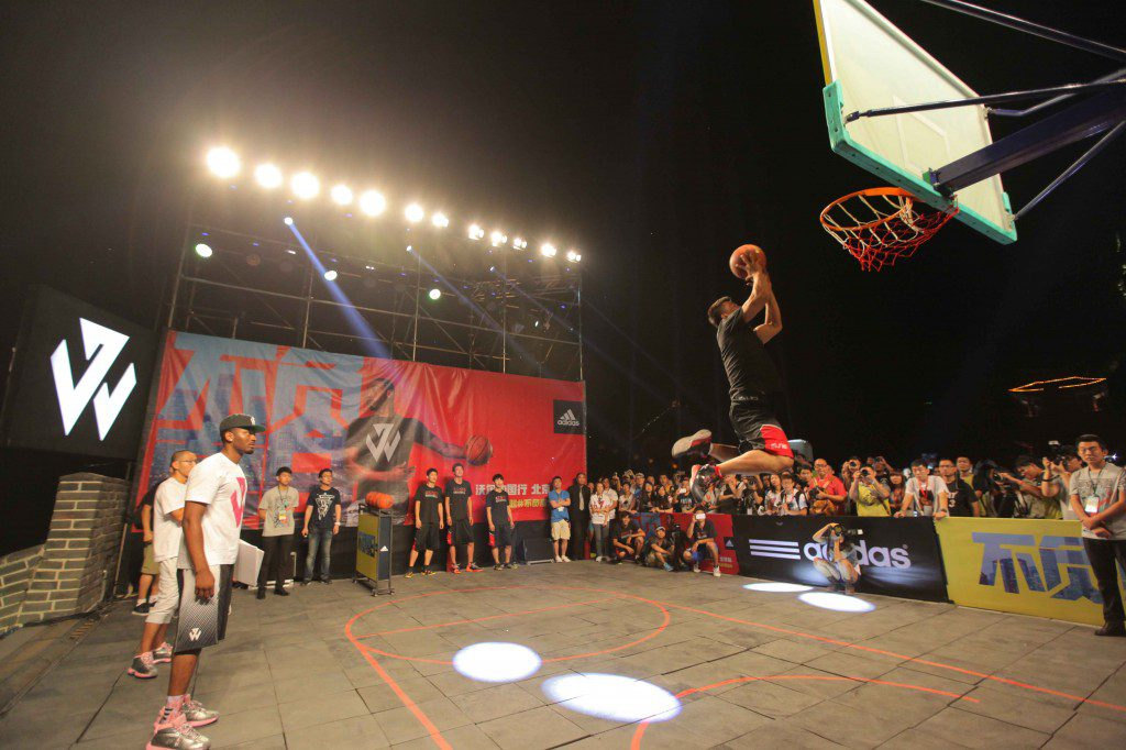 adidas John Wall Take on Summer Tour in Beijing, 1