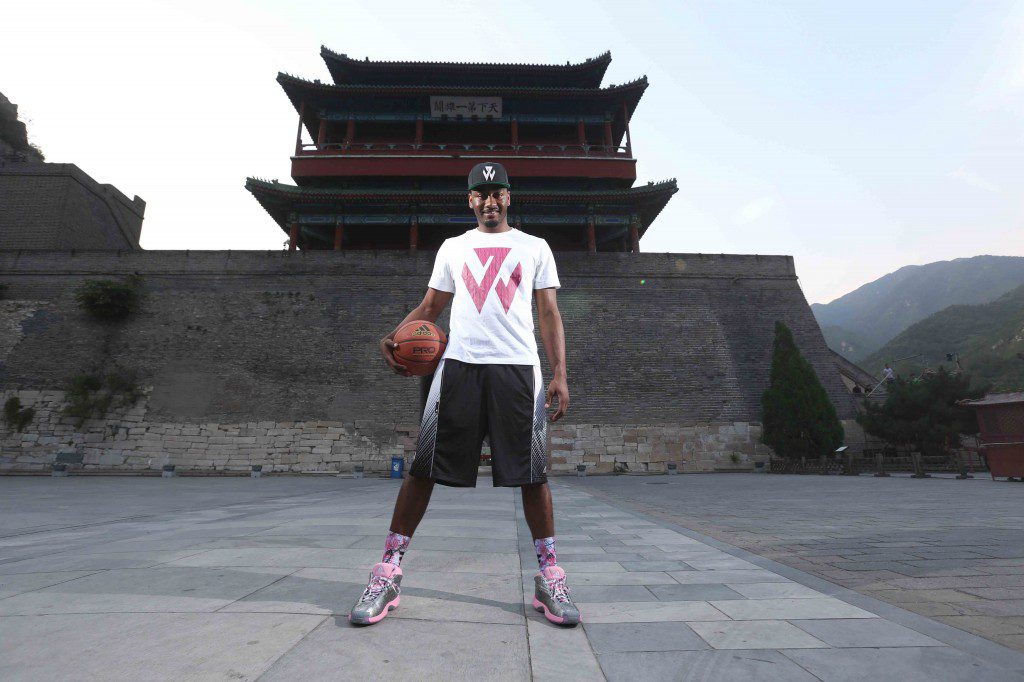 adidas John Wall Take on Summer Tour in Beijing, 2