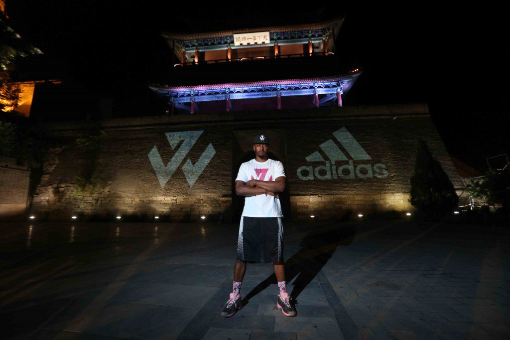 adidas John Wall Take on Summer Tour in Beijing, 3