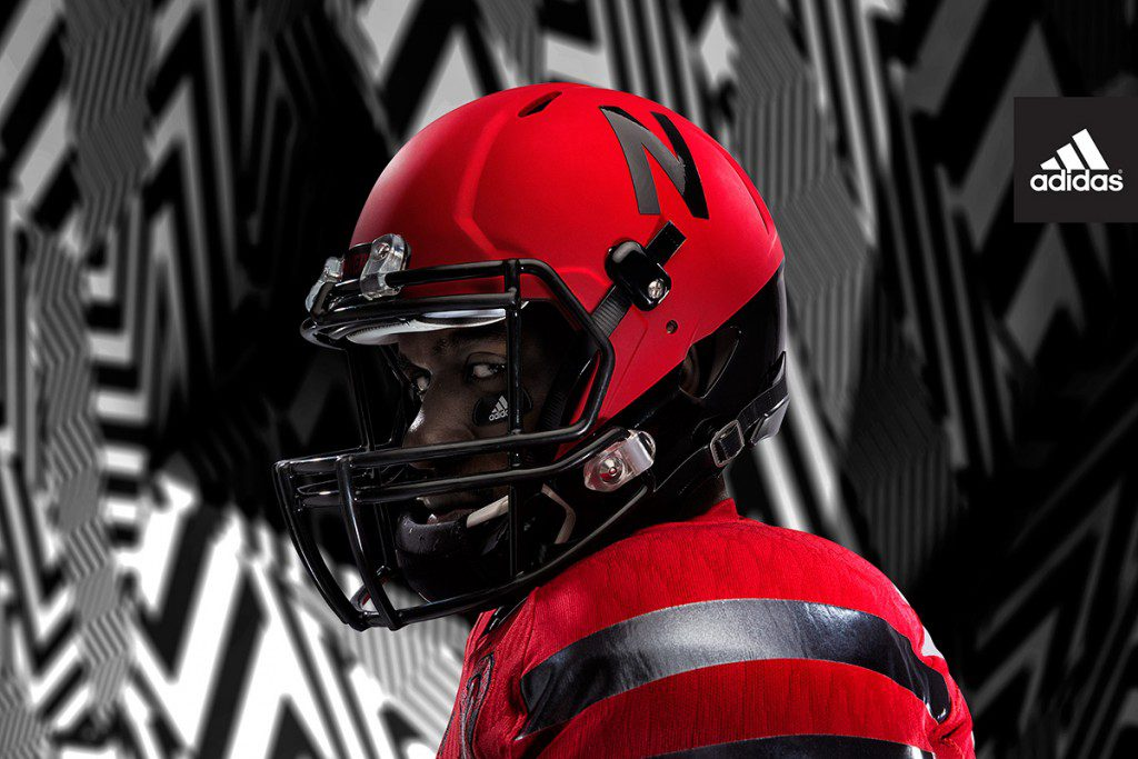 adidas Nebraska Red Rising_Helmet