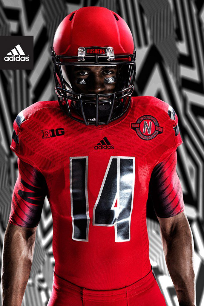 adidas Nebraska Red Rising_Jersey