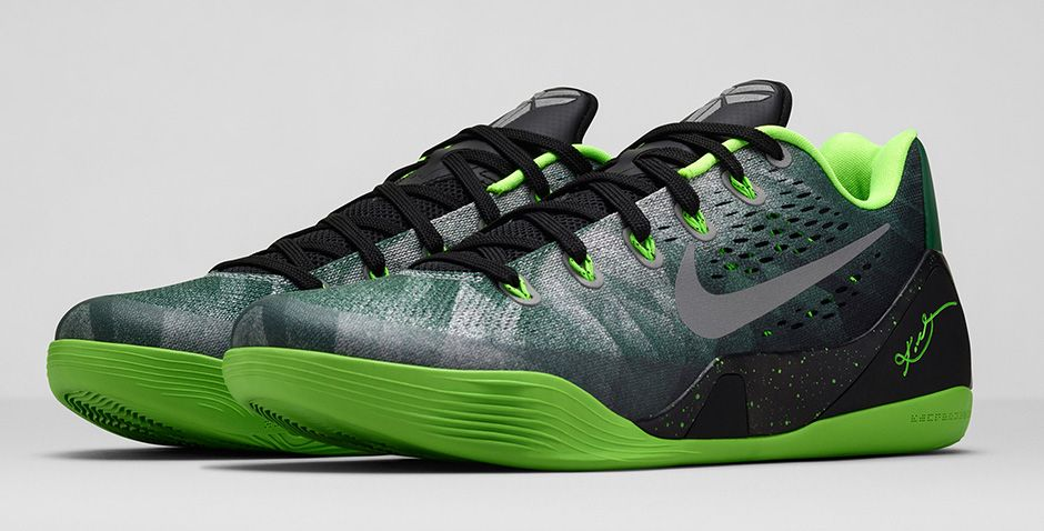 c5e7ac0b8ab5 BMF Hoops  Nike Kobe 9 EM Premium  Gorge Green  - Hardwood and Hollywood