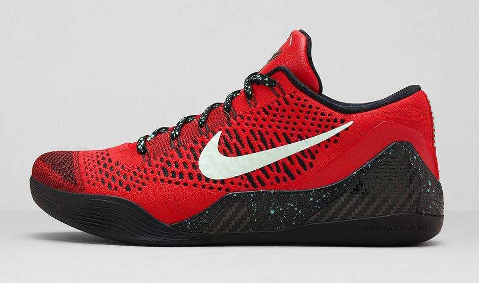 81c0e132cd2a BMF Hoops  Nike Kobe 9 Elite Low  University Red  - Hardwood and Hollywood