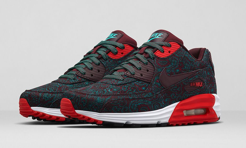 d1379f6a63b4 BMF Style  Nike Air Max Lunar90 Premium Paisley x Nike Sportswear Suit    Tie Collection