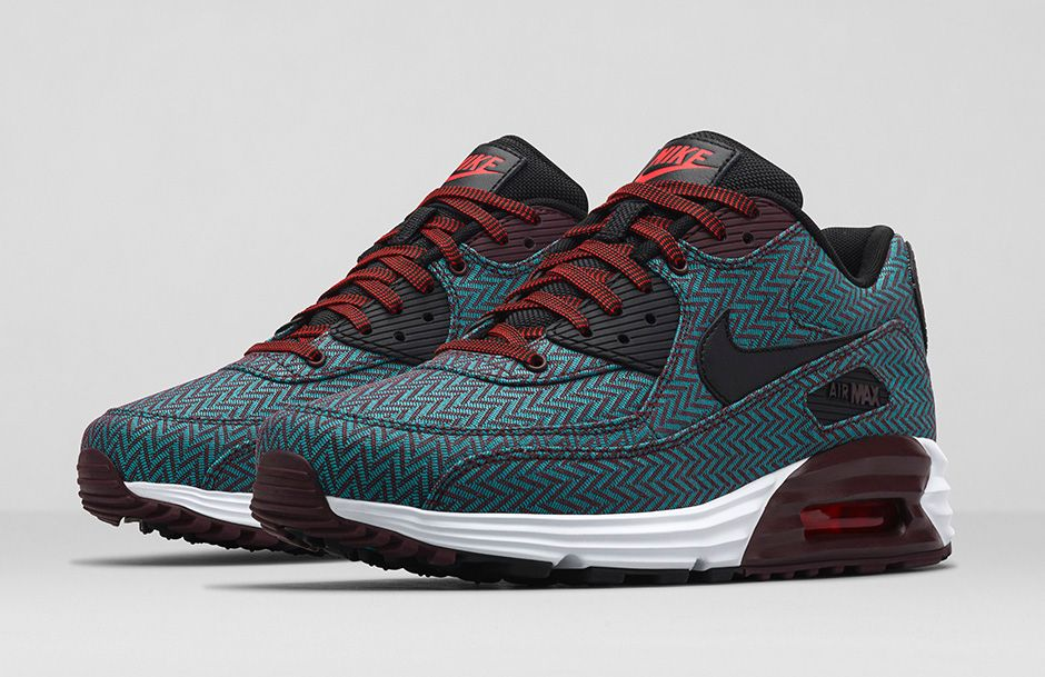 size 40 9f0e7 9d7ad BMF Style  Nike Air Max Lunar90 Premium Herringbone x Nike Sportswear Suit    Tie Collection - Hardwood and Hollywood