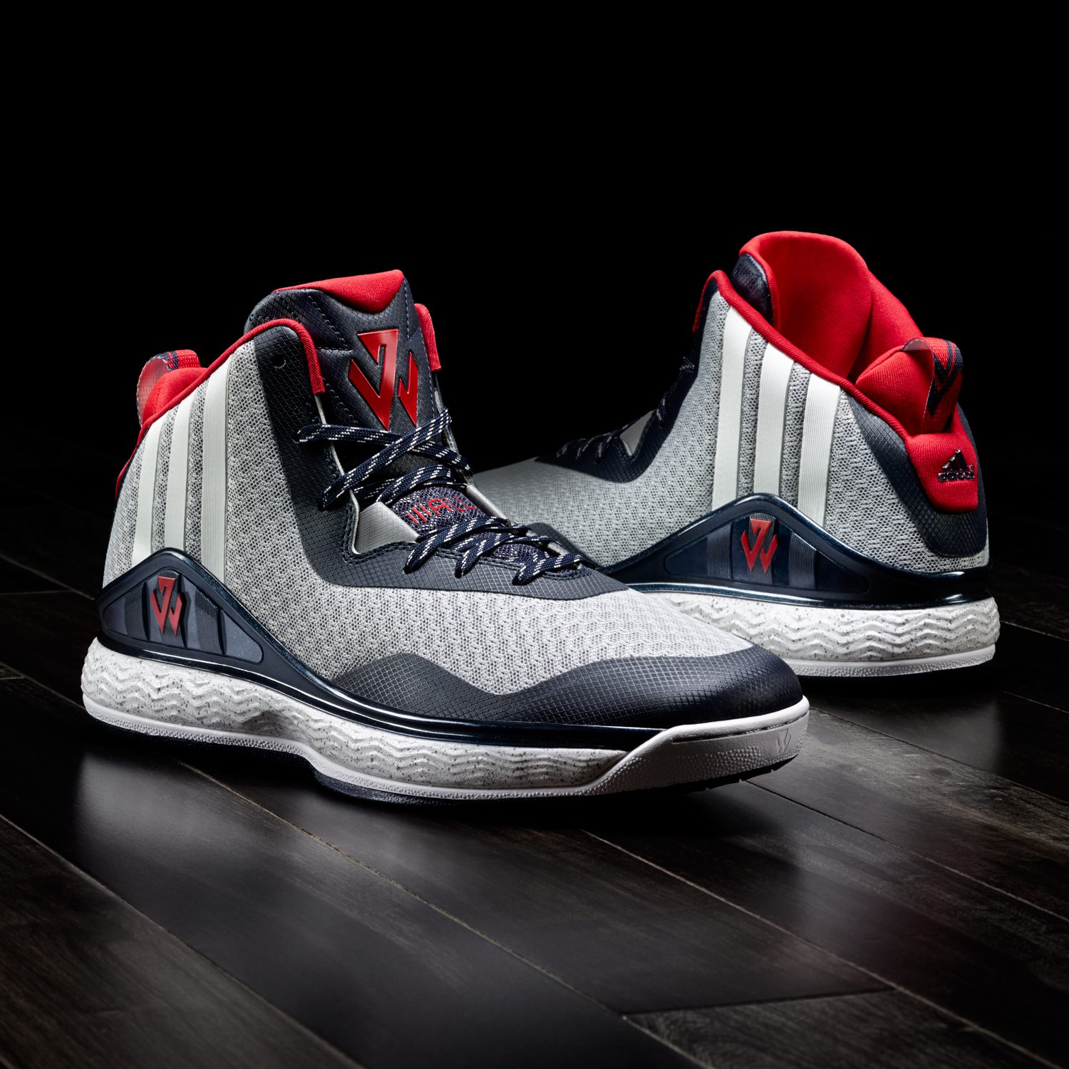 buy online 3f9e3 2521f BMF Hoops Debut  adidas J Wall 1 Collection
