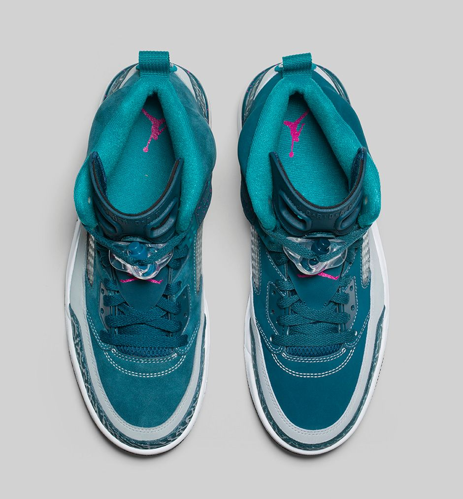 7a533282364 BMF Hoops  Jordan Spizike  Space Blue  - Hardwood and Hollywood