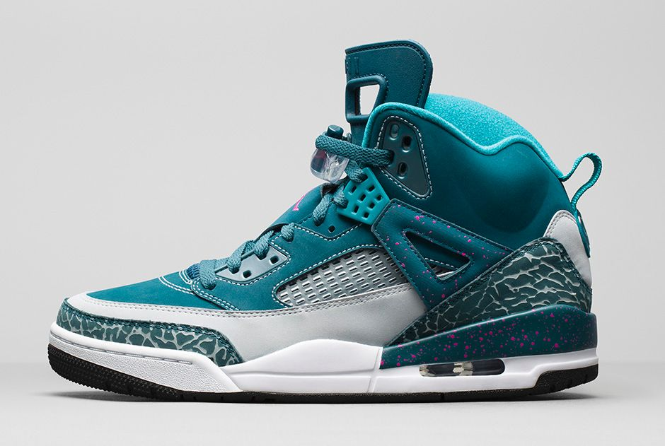 check out cc993 21eaf ... Air Jordan Spizikes Homme Bleu Jaune Gris DiFZW from Reliable Big  Discount  Courtesy of Nike. The Jordan Spizike combines .