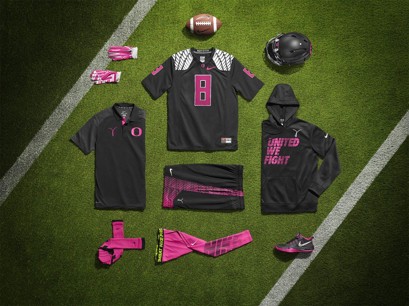 newest 1b01f 1bd7e BMF Gridiron: Nike Pro Combat Oregon Ducks Kay Yow Uniform ...